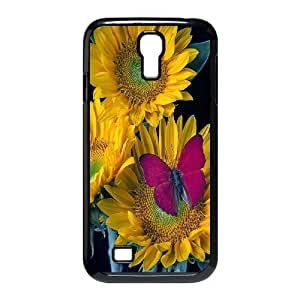 AinsleyRomo Phone Case Sunflowers art case For SamSung Galaxy S4 Case FSQF477444