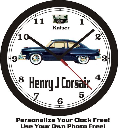1952 KAISER HENRY J CORSAIR WALL CLOCK-FREE USA SHIP! for sale  Delivered anywhere in USA