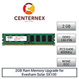 2GB RAM Memory for Evesham Solar SX100 (DDR26400 NonECC) Desktop Memory Upgrade by US Seller