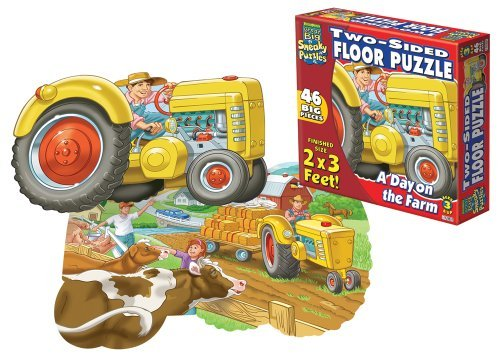 ay on the Farm (Sided Sneaky Floor Puzzle)