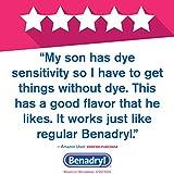 Children's Benadryl Dye-Free Allergy