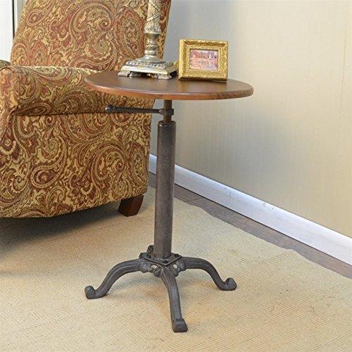 Carolina Cottage Colton Adjustable Vintage Table by Carolina Cottage