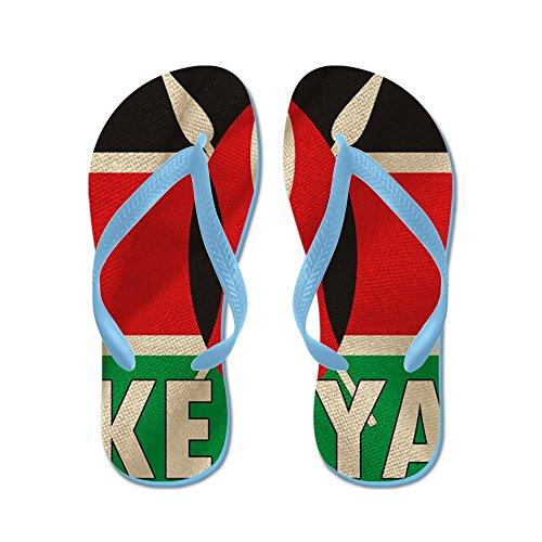 2bb2de55056b CafePress - Kenya Fabric Flag - Flip Flops