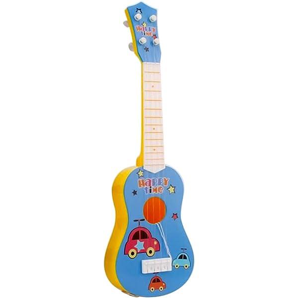 Foxom Guitarra Niños 6 Cuerdas Infantil Guitarra Juguetes ...
