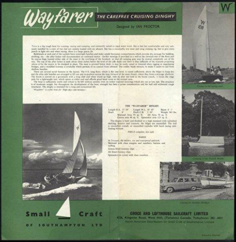 Croce & Lofthouse Sailcraft Wayfarer Cruising Dinghy sellsheet & price list - Price Wayfarer