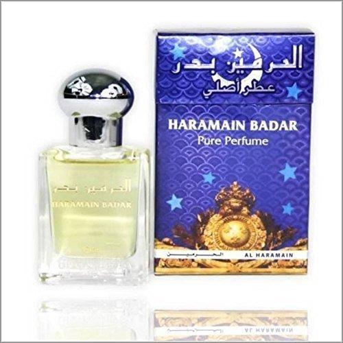 BADAR  UNICO OLIO PROFUMO ARABO / ATTAR / ittr 15 ml senza alcool PRIME fragranza Al haramain