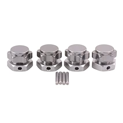 RC HSP 81011 Black Alum Wheel Hex 17mm Mount Nuts Cover For 1//8 Car Buggy Truck
