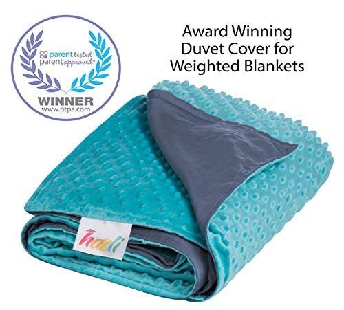 Double Sided Duvet Cover for Weighted Blanket 48
