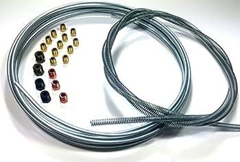 3/16 Brake Line Kit - Tube / Armor / Fittings
