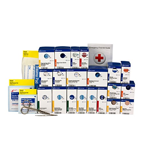 Pac-Kit by First Aid Only 90828 Large SmartCompliance Food Service First Aid Kit Refill Pack, ANSI A+
