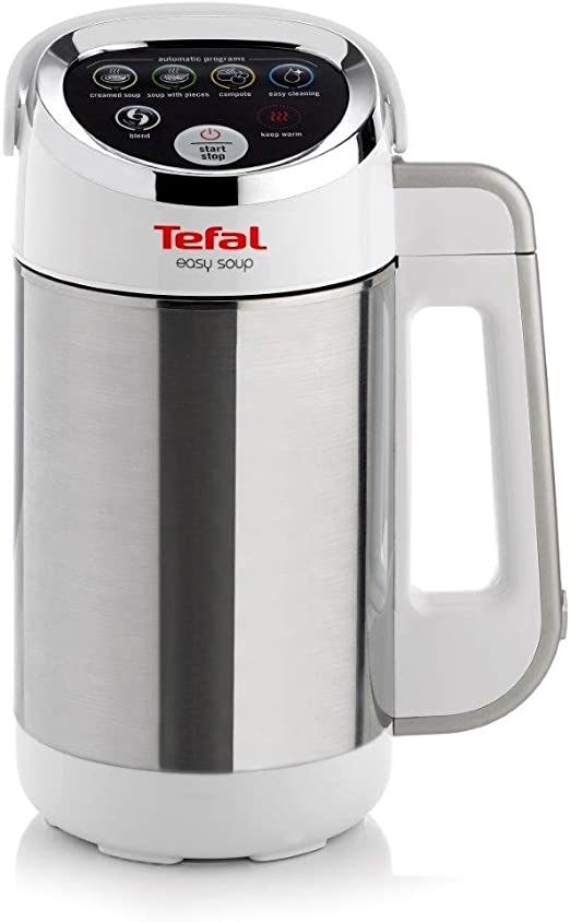 Tefal White BL841140 Automatic Easy Soup Maker 1.2 Litres 1000 ...