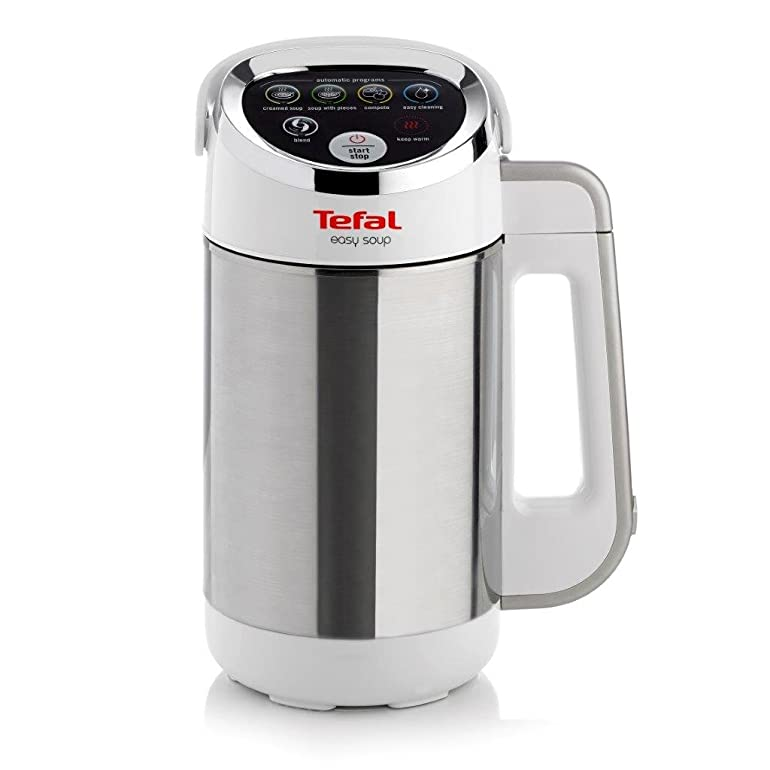 Tefal BL841140 Easy Soup and Smoothie Maker, Stainless Steel ...