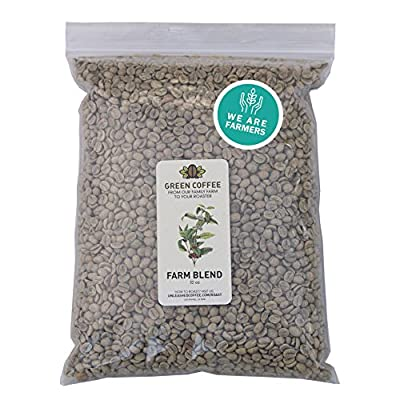 2lb Green Unroasted Coffee Brazil Farm Blend - From our family farm