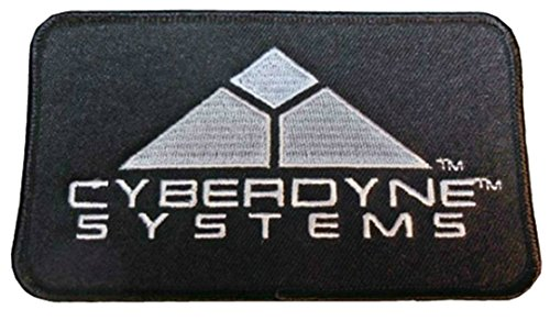 Terminator Blanket - InspireMe Family Owned Terminator Armageddon Cyberdyne Systems Logo Embroidered Sew/Iron-on Patch/Applique 3
