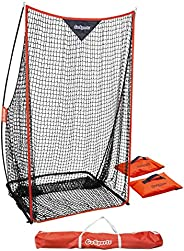 GoSports Football 7' x 4' Kicking Net - Sideline Practice for Punting or Place Kicks, Ultra-Portable D