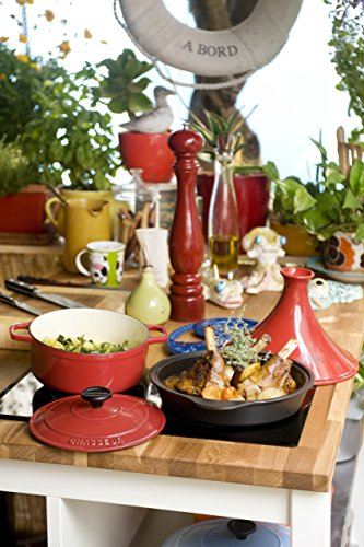 Chasseur 2.1-quart Red 'Duck' French Enameled Cast Iron Terrine by Chasseur (Image #3)