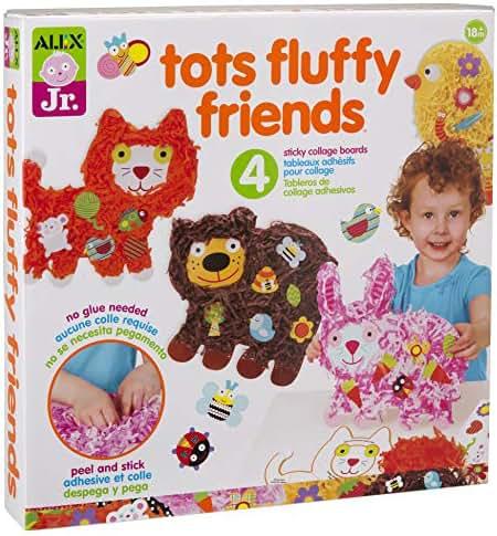 ALEX Jr. Tots Fluffy Friends Paper Animal Activity