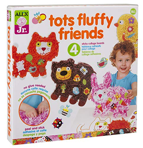 ALEX Jr. Tots Fluffy Friends Paper Animal Activity -