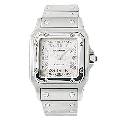 Cartier Santos Galbee Automatic-self-Wind Male Watch 2319 (Certified Pre-Owned) from Cartier