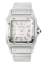 Santos Galbee Automatic-self-Wind Male Watch 2319 (Certified Pre-Owned)