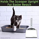 CatGuru Premium Cat Litter Scoop Holder, Scooper