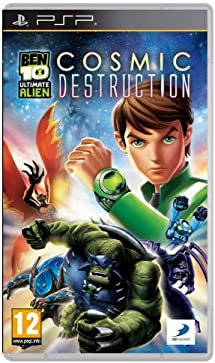ben 10 ultimate alien cosmic destruction psp gratuit