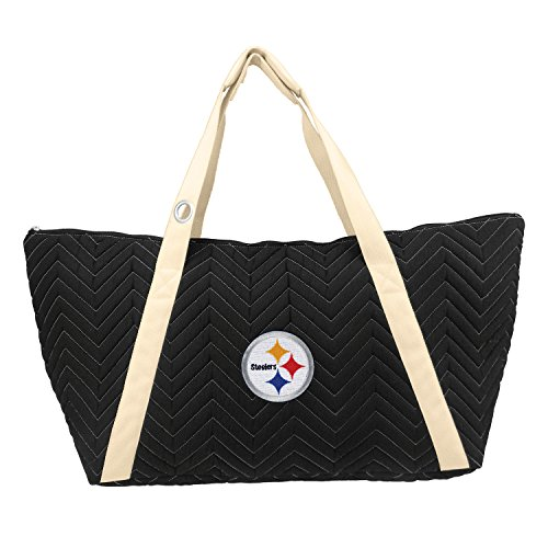 NFL Pittsburgh Steelers Chev-Stitch Weekender Tote by Littlearth