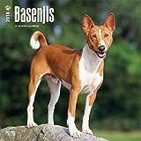 Basenji Dog Wall Calendar 2018 {jg} Best Holiday Gift Ideas - Great for mom, dad, sister, brother, grandparents, grandchildren, grandma, gay, lgbtq.