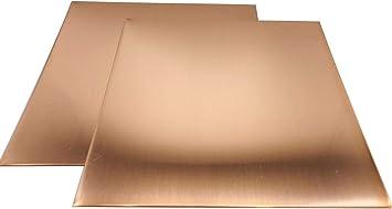 """Brass Sheet Plate .040/"""" 18 gauge 5/"""" x 8/"""""""
