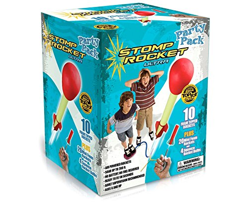 - Ultra Stomp Rocket Party Pack, Rockets Toys, 2018