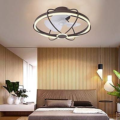 Ventilador de techo con iluminación, ventilador de techo, luz LED ...