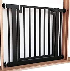Amazon Com Libro Modern Dog Gate Black Expandable To