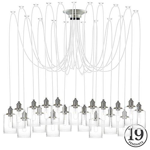 Oversized Industrial Pendant Light - 8