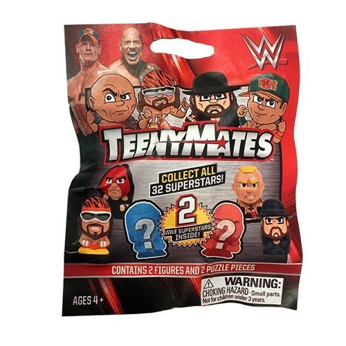 (Party Animal Teenymates WWE Series 1 Mini Figure (6 Pack))