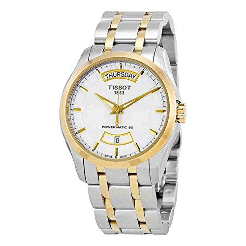Chronograph Automatic Gents Watch - Tissot Couturier Powermatic 80 Chronograph Automatic Mens Watch T035.407.22.011.01