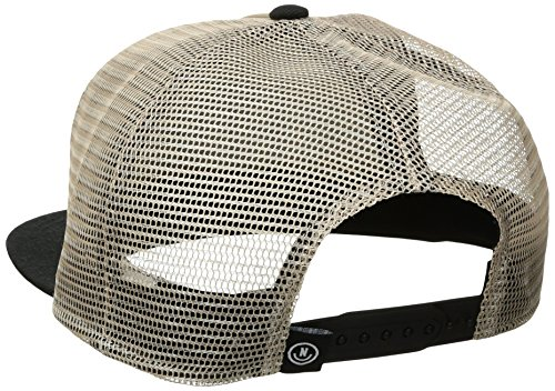 NEFF Men's Phalieber Trucker Hat, Stone/Black, One Size by NEFF (Image #2)