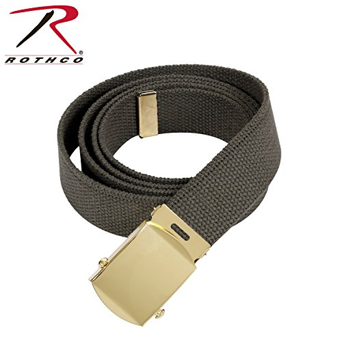 Belts Web Clothing - Rothco Military Web Belts, Olive Drab, 64''