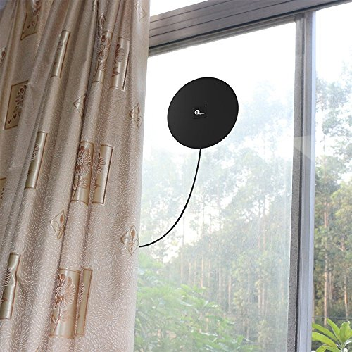 1byone 35 Miles HDTV Antenna Omni-directional TV Antenna with 10 Feet High Performance Cable by 1byone (Image #3)