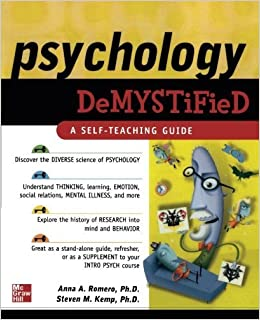 Psychology Demystified by Anna Romero (2006-10-12)
