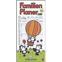 sheepworld Familienplaner 2020 21x45cm