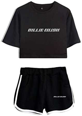Amazon.com: Silver Basic Womens Billie Eilish Sports ...