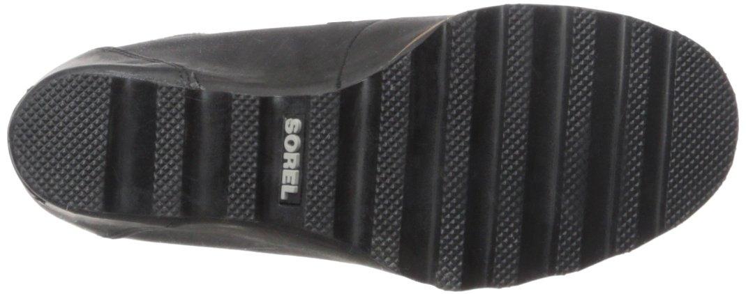 SOREL Women's Conquest Wedge Mid Calf Boot, Black, 11 M US by SOREL (Image #3)
