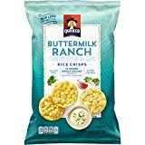 Quaker Rice Crisps, Buttermilk Ranch, 3.03 oz Bag (Packaging May Vary)