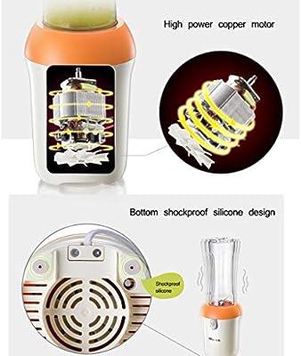 Exprimidores eléctricos Juicer portátil Licuadora Jugo de la ...