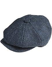 PEAKY BLINDERS 8-delige 'Newsboy' stijl Flat Cap -Tweed Wol Stof Variaties