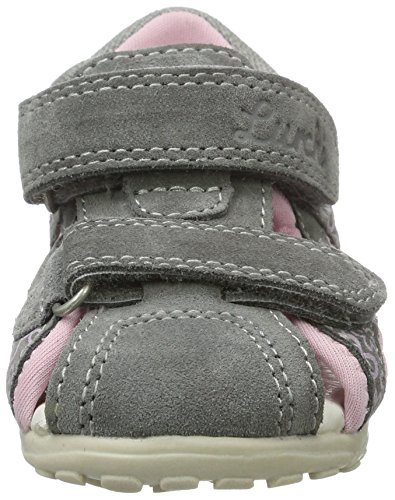 Lurchi Molo Baby Mädchen Lauflernschuhe Grau (Grey)