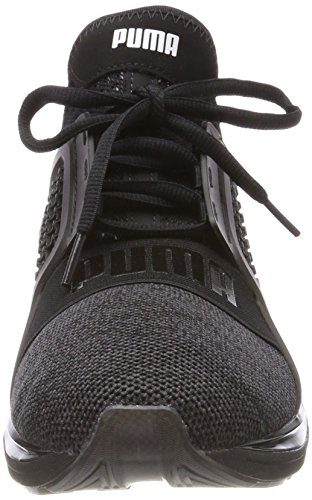 Puma Noir Ignite Limitless puma Cross Knit Sneakers Argent Hommes ffrxZHW