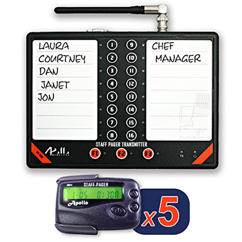 Apollo Staff or Server Paging System Kit by FoodSoftware