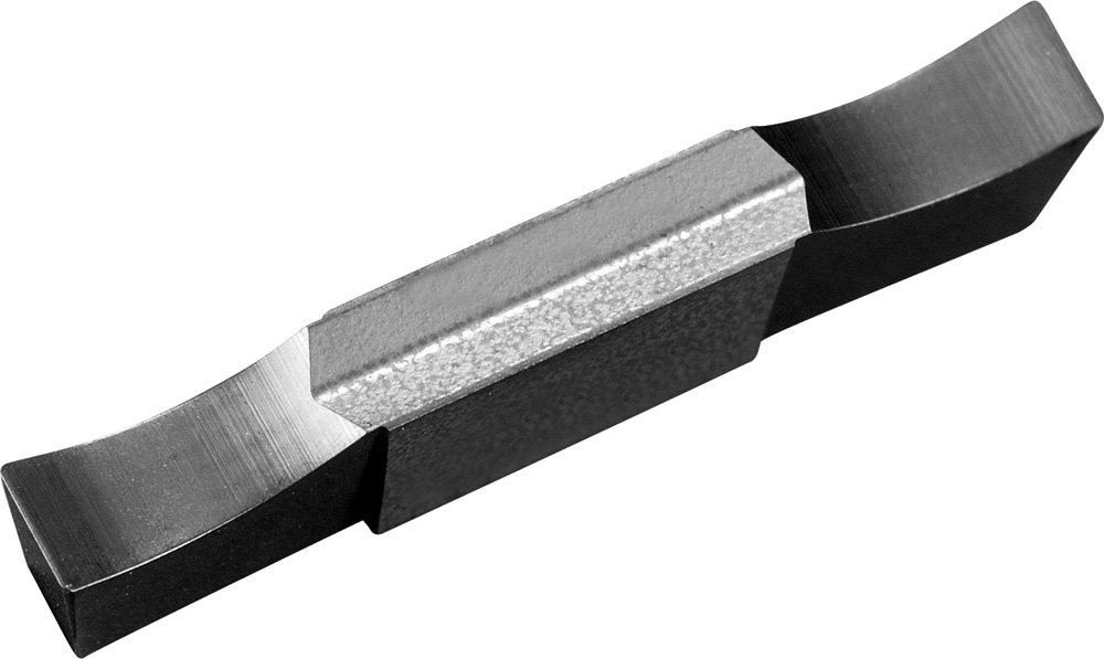 Right Hand KYOCERA GDG2520N020GS PR1535 External Grooving Insert 2 Cutting Edges Carbide 0.0984 Groove Width Gdg PR1535 Grade 0.0079 Corner Radius Megacoat Nano