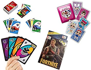 ML Pack de 4 Juegos de Cartas Uno, Juego de Mesa para niños y Adultos (Rojo): Amazon.es: Juguetes y juegos